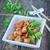 finom · sült · vesepecsenye · disznóhús · ebéd · fine · dining - stock fotó © tycoon