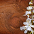 flowers on wooden background stock photo © tycoon