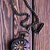 vintage · relógio · de · bolso · hour · glass · areia · cronômetro · símbolos - foto stock © tycoon