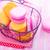 лаванды · синий · жалюзи · желтый · штукатурка - Сток-фото © tycoon