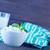 túró · fehér · csészealj · tányér · étel · fa - stock fotó © tycoon
