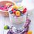 puding · friss · bogyók · üveg · ital · szőlő - stock fotó © tycoon