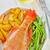 gerookt · vis · plaat · voedsel · hout · groene - stockfoto © tycoon