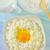 kunyhó · tojások · tejföl · étel · egészség · tojás - stock fotó © tycoon
