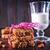 cookie · świeże · mleko · tabeli · szkoły · pić · retro - zdjęcia stock © tycoon