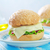 cheeseburger · cebola · alface · tomates · comida · jantar - foto stock © tycoon