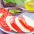 Салат · моцарелла · томатный · продовольствие · зеленый · нефть - Сток-фото © tycoon
