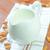 mandula · tej · sáfrány · tányér · reggeli · desszert - stock fotó © tycoon