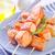 лосося · кебаб · продовольствие · оранжевый · обеда · красный - Сток-фото © tycoon