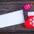 carta · pergamino · Navidad · almacenamiento · rojo - foto stock © tycoon