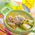 fresh soup with meat and vegetables stock photo © tycoon