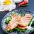 жареный · продовольствие · кухня · хрустящий · фон - Сток-фото © tycoon