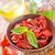 sécher · tomate · bois · verre · fond · blanche - photo stock © tycoon