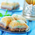 турецкий · десерта · типичный · фон · белый - Сток-фото © tycoon