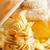 ontbijt · graan · thee · yoghurt · voedsel - stockfoto © tycoon