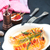 tavuk · göğsü · peynir · domuz · pastırması · plaka · gıda · tavuk - stok fotoğraf © tycoon