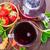 eper · tea · teáscsésze · asztal · gyümölcs · egészség - stock fotó © tycoon
