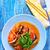 gıda · akşam · yemeği · domates · sebze · yemek · sağlıklı - stok fotoğraf © tycoon