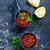 salmone · caviale · rosso · tavola · legno - foto d'archivio © tycoon