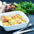 ほうれん草 · フェタチーズ · スライス · カット · パイ - ストックフォト © tycoon