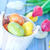 huevos · de · Pascua · flores · mesa · flor · amor · madera - foto stock © tycoon