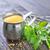 casero · mayonesa · mayonesa · tazón · blanco - foto stock © tycoon