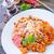 pasta · vegetales · estofado · mozzarella · albahaca · alimentos - foto stock © tycoon