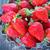 eper · friss · asztal · piros · fa · asztal · étel - stock fotó © tycoon