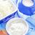 chalet · lait · crème · alimentaire · santé · bleu - photo stock © tycoon