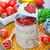 házi · készítésű · paradicsomszósz · friss · paradicsomok · bazsalikom · étel - stock fotó © tycoon