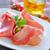 prosciutto · Italiaans · voedsel · plaat · vlees - stockfoto © tycoon