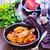 pasta · verde · verdura · salsa · nero - foto d'archivio © tycoon