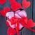 chocolade · snoep · tabel · harten · bloemen · hart - stockfoto © tycoon