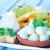 前菜 · トレイ · 果物 · ナッツ · 垂直 · ショット - ストックフォト © tycoon