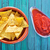 nachos · aperitivos · mesa · fondo · Servicio · mexicano - foto stock © tycoon