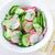 fresh salad with cucumber and radish stock photo © tycoon