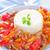 gotowany · ryżu · mięsa · warzyw · restauracji · mleka - zdjęcia stock © tycoon