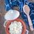 fromage · cottage · blanche · bois · rustique · produit · laitier · alimentaire - photo stock © tycoon