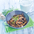 коричневый · гриб · пластина · ножом · вилка · продовольствие - Сток-фото © tycoon