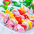 nyers · kebab · paradicsomok · étel · nyár · zöld - stock fotó © tycoon