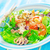 gamba · ensalada · simple · saludable · camarón · mixto - foto stock © tycoon