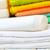 handdoeken · zeep · geïsoleerd · witte · achtergrond · fles - stockfoto © tycoon
