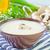 soep · plaat · najaar · witte · peper · champignon - stockfoto © tycoon