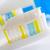 creme · dental · família · menina · casal · azul · limpar - foto stock © tycoon