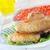 pollo · ali · peperoncino · salsa · foglia · verde - foto d'archivio © tycoon