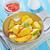 frito · papa · tocino · hortalizas · blanco · ensalada - foto stock © tycoon