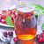Вишневое · сока · стекла · Ягоды · банку · синий - Сток-фото © tycoon