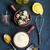 mayonesa · frescos · salsa · tazón · mesa · huevo - foto stock © tycoon