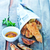 adag · hal · sültkrumpli · étel · zöld · kövér - stock fotó © tycoon