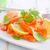 salmón · sashimi · vidrio · cuadro · comer - foto stock © tycoon